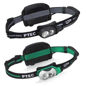Princeton Tec Remix Plus LED Headlamp, White/Green