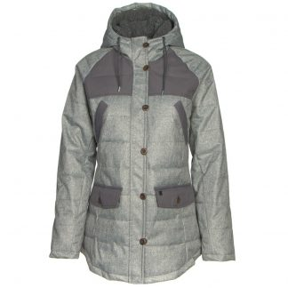 Woolrich Bitter Chill Wool Loft Parka Womens Jacket