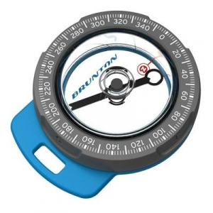 Brunton Tag Along Zip Zipper Pull Compass