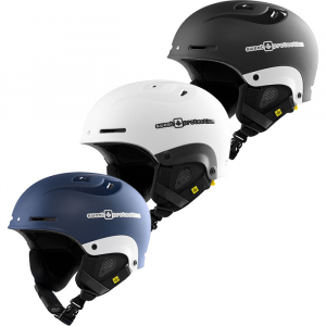 Satin White Sweet Protection Blaster MIPS Snow Helmet - S/M