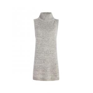Demo,Woolrich Women's Desert Chill Pullover Vest, Arctic Grey, M