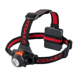 Coast HL27 Focusing LED Headlamp, Black