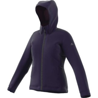 Adidas Women's Wandertag Insulated Jacket - Small - Noble Ink