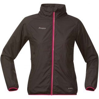 Bergans Women's Viul Lady Jacket - Small - Black / Hot Pink