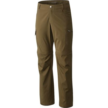 Columbia Men's Silver Ridge Stretch Convertible Pant - 44x34 - Peatmoss