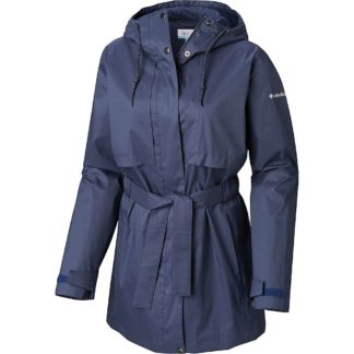 Columbia Women's Pardon My Trench Rain Jacket - Small - Nocturnal