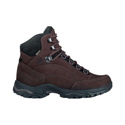 Hanwag Women's Alta Bunion Winter Lady GTX Boot - 7 UK - Dark Brown / Erde