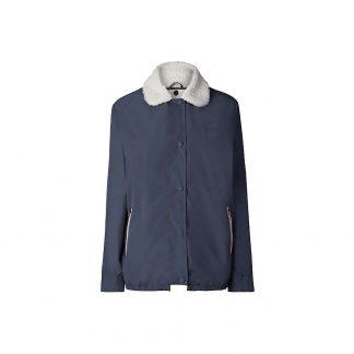 Hunter Women's Original Shell Jacket with Fleece Liner - Small - Navy