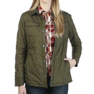 Moosejaw Women's Lafayette Insulated Shirt Jacket - XS - Leaf