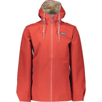 Obermeyer Men's No 4 Shell Jacket - XL - Rawhide Red