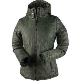 Obermeyer Women's Desiree Insulator Jacket - Large - Driftwood
