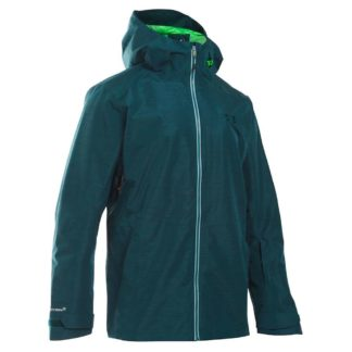 Under Armour Men's UA ColdGear Infrared Haines Shell Jacket - Large - Nova Teal / Northern Lights / Overcast Grey
