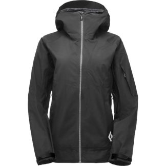 Black Diamond Women's Mission Shell Jacket - Medium - Black