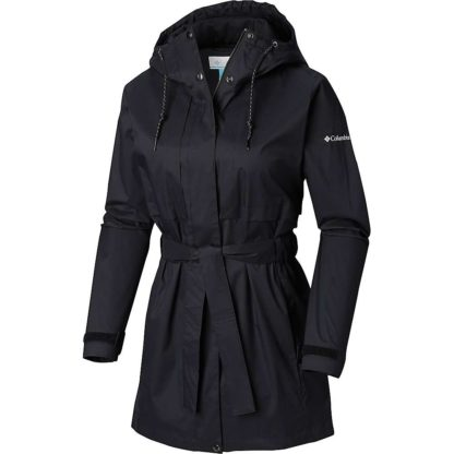 Columbia Women's Pardon My Trench Rain Jacket - 2X - Black