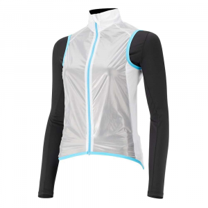 Capo Women's Siena Compatto Wind Vest - Medium - Clear