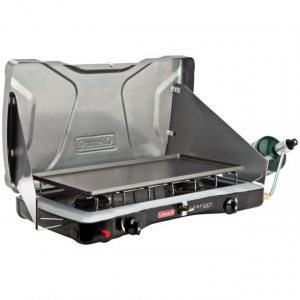 Coleman Outdoor Instastart Electric Ignite Propane Stove, 2 Burner