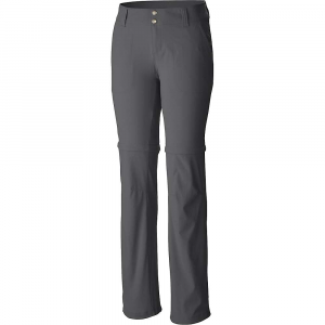 Columbia Women's Saturday Trail II Convertible Pant - 14 Short - Grill