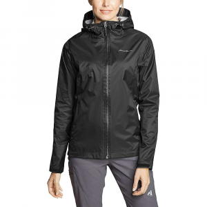 Eddie Bauer Women's Cloud Cap Rain Jacket - Medium - Black