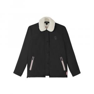 Hunter Women's Original Shell Jacket with Fleece Liner - Small - Black