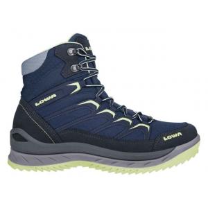 Lowa Innox Ice GTX Mid Winter Hiking Boot - Women's, Navy/Mint, 7, Medium