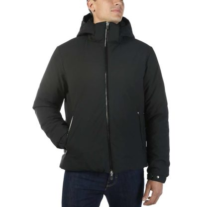 Save The Duck Men's Signature Stretch Insulated Water Resistant Jacket - XXL - 01 Black