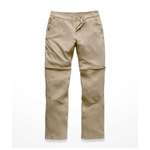 The North Face Women's Paramount Convertible Pant - 4 Long - Dune Beige