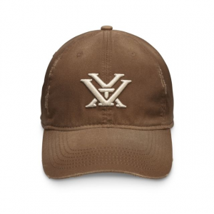 Vortex Men's Distressed Cap, Chestnut