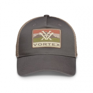 Vortex Men's Mountain Patch Cap, Grey
