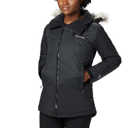 Columbia Emerald Lake Parka w/Faux Fur - Plus Womens Insulated Ski Jacket 2020