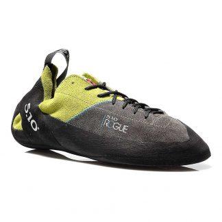 Five Ten Men's Rogue Lace-up Climbing Shoe - 3.5 - Green / Charcoal