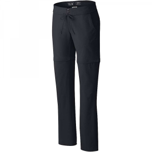 Mountain Hardwear Women's Yuma Convertible Pant - 16X32 - Black