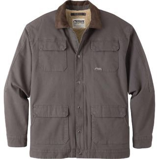 Mountain Khakis Men's Ranch Shearling Jacket - Small - Slate