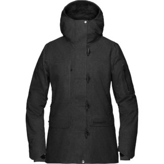 Norrona Women's Roldal Gore-tex Insulated Jacket - Small - Caviar