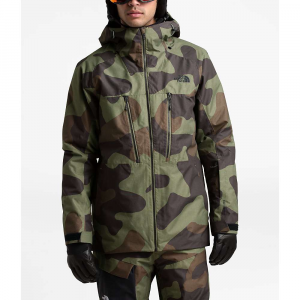 The North Face Men's ThermoBall Eco Snow Triclimate Jacket - Small - Four Leaf Clover Terra Camo Print