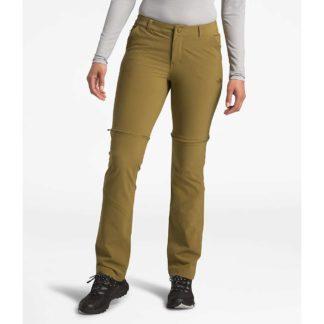The North Face Women's Paramount Convertible Pant - 4 Regular - British Khaki