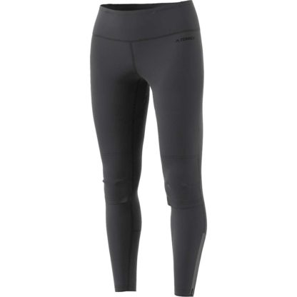 Adidas Women's Agravic Trail Running Tight - Large - Carbon