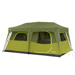 Outdoor Products 8 Person Instant Cabin Tent w/ Extended Eave, Green/Olive Green