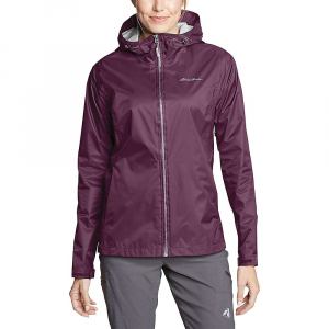 Eddie Bauer Women's Cloud Cap Rain Jacket - Small - Dark Plum