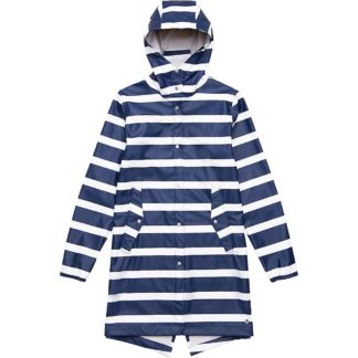 Herschel Supply Co Women's Fishtail Rain Jacket - Large - Border Stripe