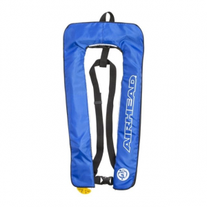 Airhead Inflatable Stoll PFD, 24G, Sl Manual Basic 6F, Blue