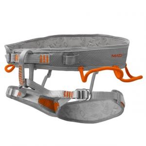 Mad Rock Solar Harness - Men's, Orange/Grey, S
