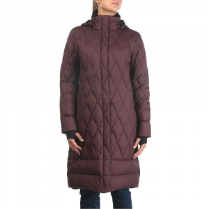 Moosejaw Women's Woodward Longer Down Jacket - XS - Bordeaux