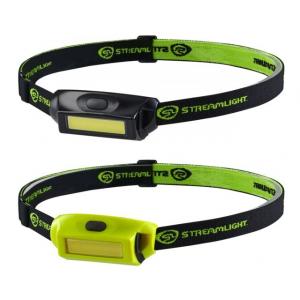 Streamlight Bandit Pro Headlamp, 180 Lumen Chip On Board Led, Usb Cord, 61701 - Hat Clip, Elastic Headstrap, Yellow