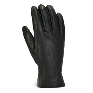 Gordini Deerskin Lavawool Gloves - Men's, Black, Small