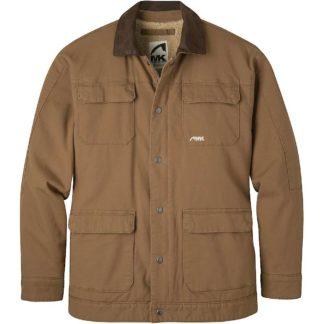 Mountain Khakis Men's Ranch Shearling Jacket - Small - Tobacco