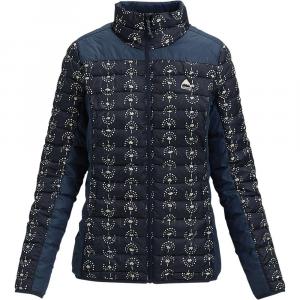 Burton Women's Evergreen Synthetic Collar Insulator Jacket - Small - Float Away / Mood Indigo
