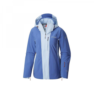 Columbia Women's Snow Rival Jacket - Large - Eve / Faded Sky