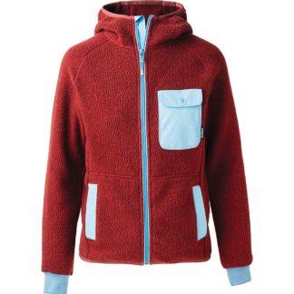 Cotopaxi Men's Cubre Hooded Full Zip Fleece Jacket - Large - Brick/Sky