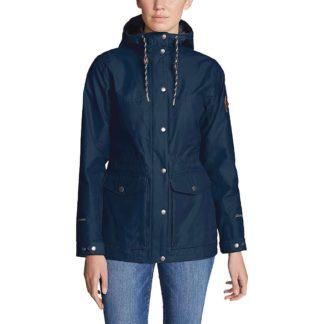 Eddie Bauer Women's Charly Jacket - Large - Medium Indigo
