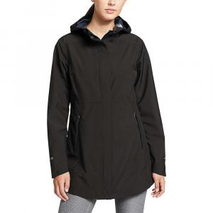 Eddie Bauer Women's Cloud Cap 2.0 Stretch Rain Jacket - Large - Black